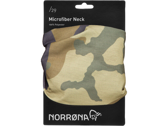 Norrøna /29 Microfiber Nek, green camo